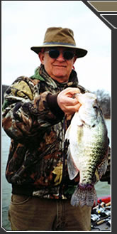 Kentucky Lake fishing guide service with Captain Kirk